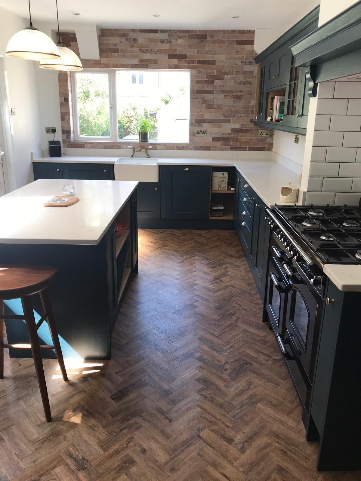 Parquet Flooring Parquet Flooring Kitchen Open Plan Kitchen Living Room Kitchen Feature Wall