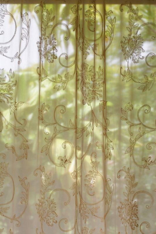 martha stewart sheer curtains from
