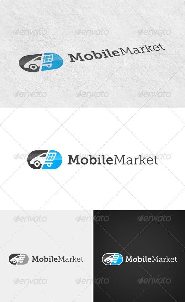 Mobile Market logo | Mobile marketing, Logo templates, Logos