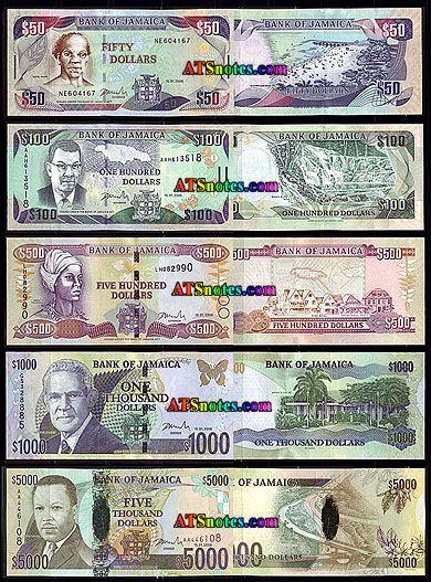Jamaica Paper Money Catalog And