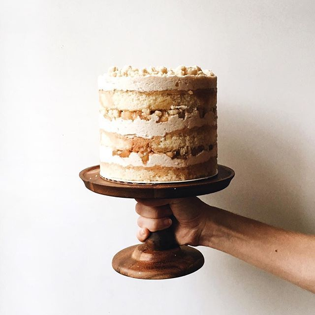 Bourbon Apple Pie Layer Cake Via Feedfeed On Https Thefeedfeed