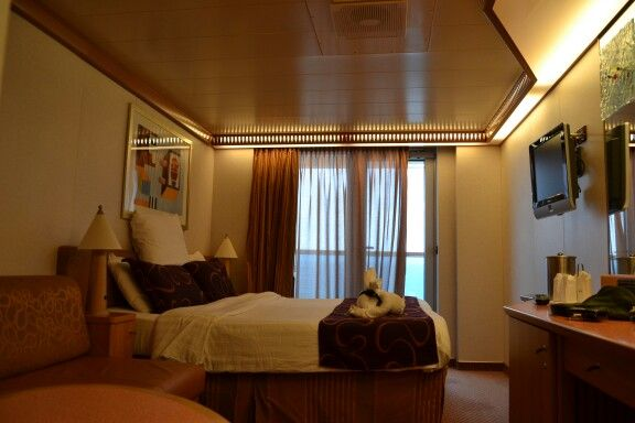 Balcony stateroom Costa Luminosa