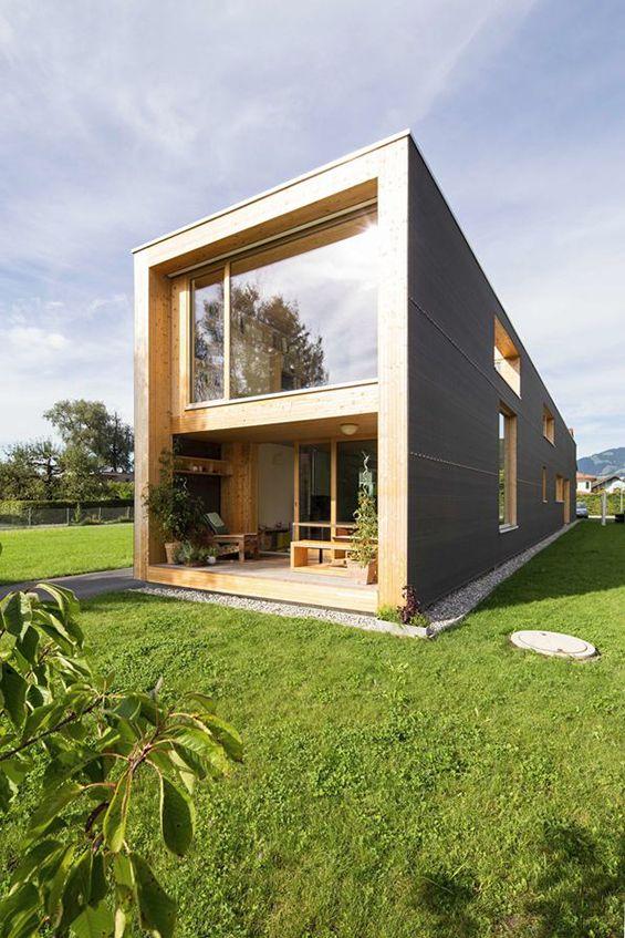 Jury Troy architects : 37m House | Maison bois, Architecture ...