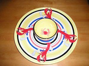 Serving tray w/ dip bowl #JoesCrabShack