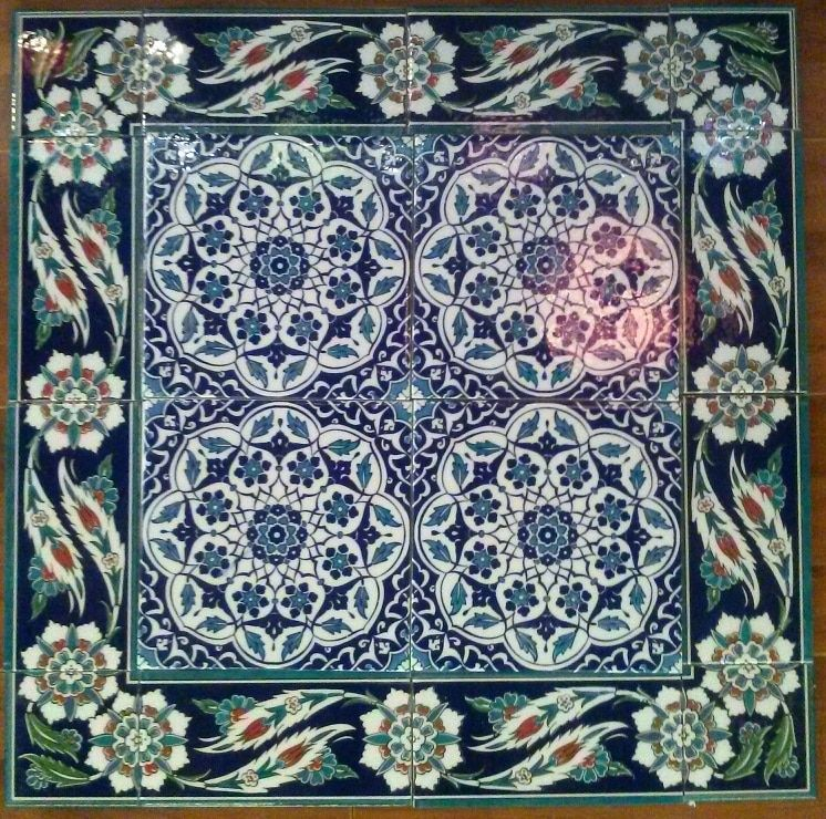 Ceramic Turkish Wall Tiles Floral Dream Wall tiles