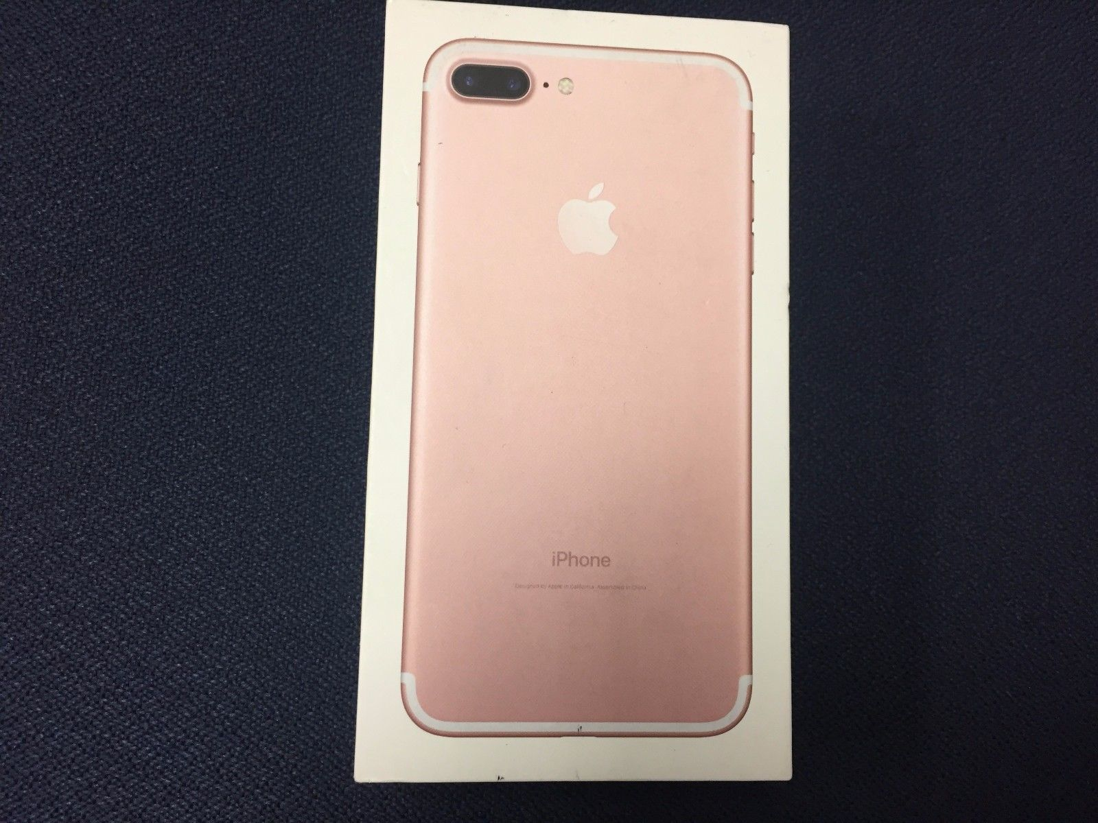 iphone 7 plus gold box. #new post #at\u0026t unlocked apple iphone 7 plus (latest model) - 32gb rose gold oem box new http://i.ebayimg.com/images/g/rsiaaosw9ghyf-43/s-l1600.jpg item iphone