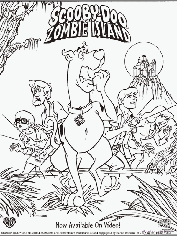 Scooby Doo Colouring Pages Scooby Doo Movies Coloring Pages 03 Scooby Doo Coloring Pages Halloween Coloring Pages Cartoon Coloring Pages