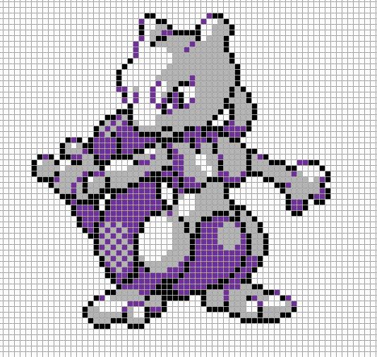 mew 2 pixel art
