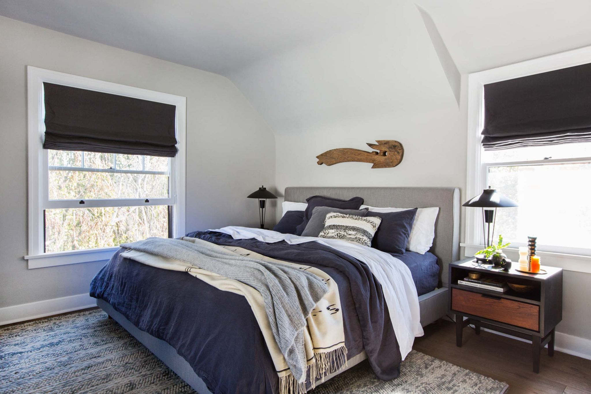 master bedroom refresh with emily henderson and parachute home including the living spaces dean charcoal