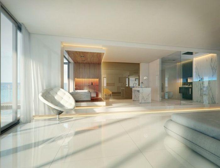 Design Hochglanz Boden von Albert Mizuno