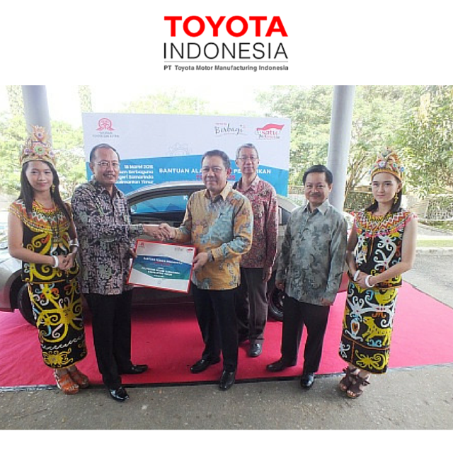 Dalam rangka perayaan Yayasan Toyota dan Astra (YTA) yang