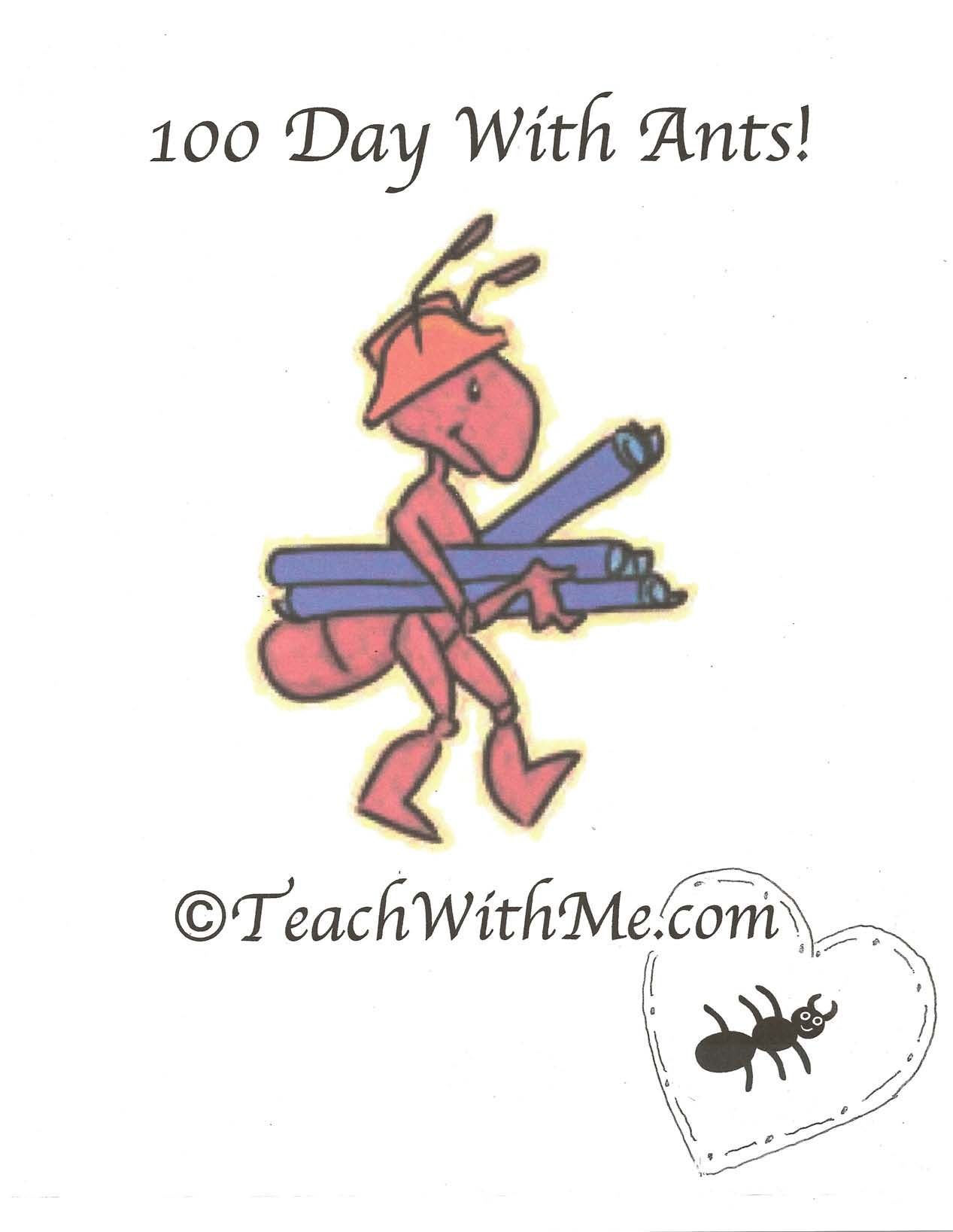 100 Day With Ants