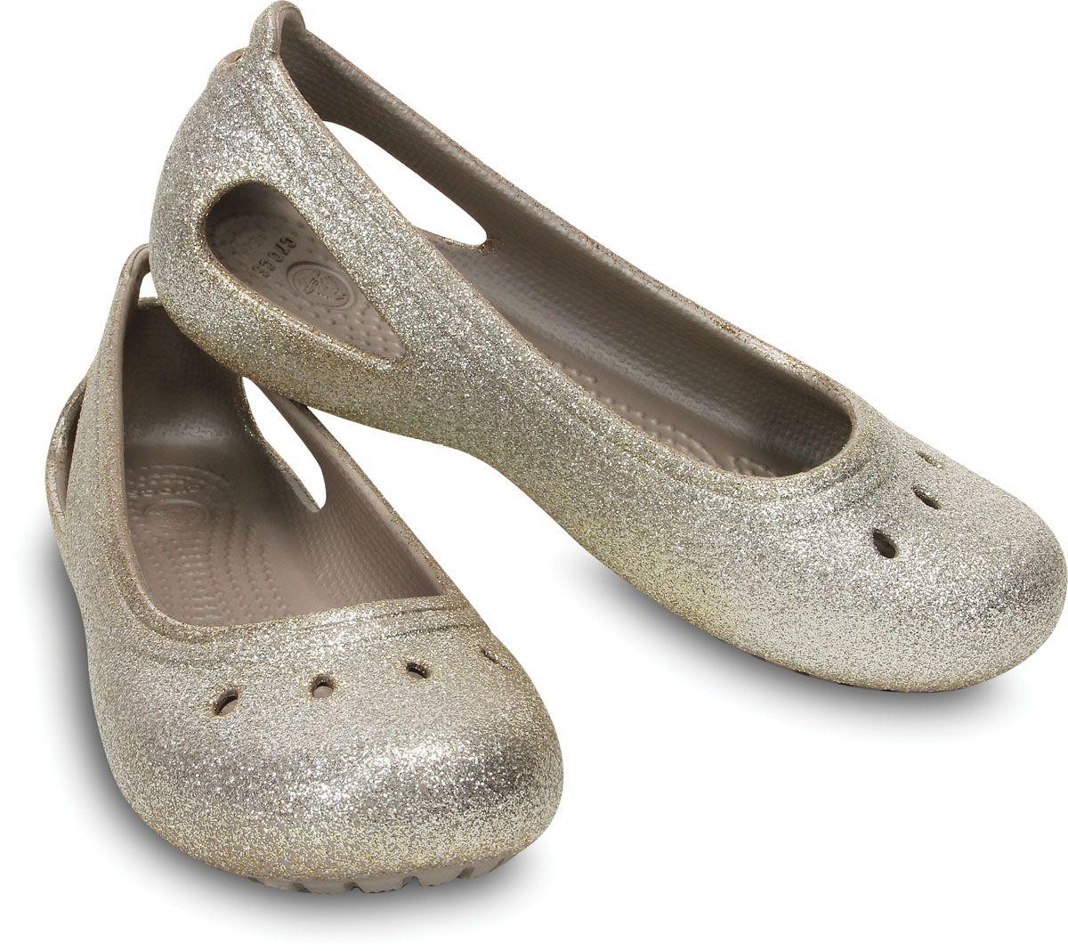 glitter crocs for women