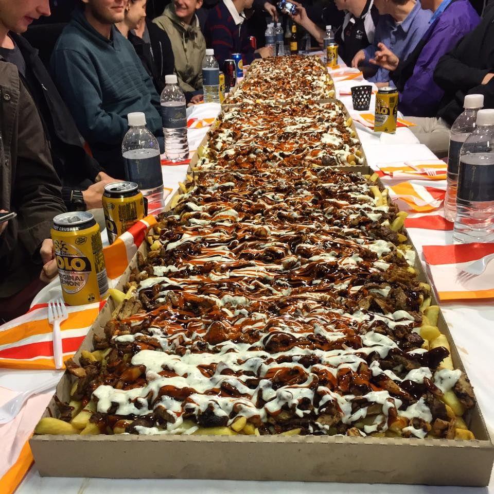 Halal Snack Pack Meat And Chips In Perth Australia Halal Snacks Snack Packs Man Vs Food