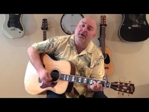 How to Play Into the Mystic - Van Morrison (cover) - Easy 4 Chord ...