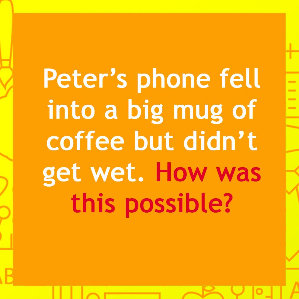 So easy! 😉 Riddle Puzzle Brainteaser Quiz Brain