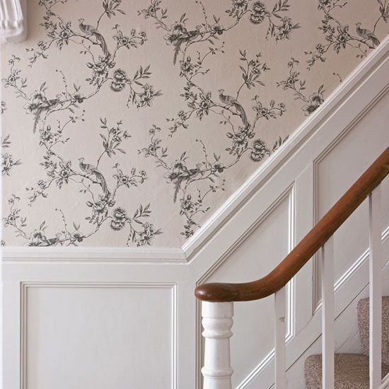 Living Room Decorating Ideas With Dado Rail country wallpaper: 5 easy ways to update your decor country style