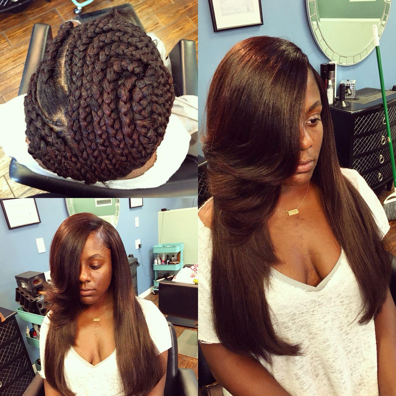 Hairbeat Sew In Hairstyles Hair Beauty Sew In Braid Pattern