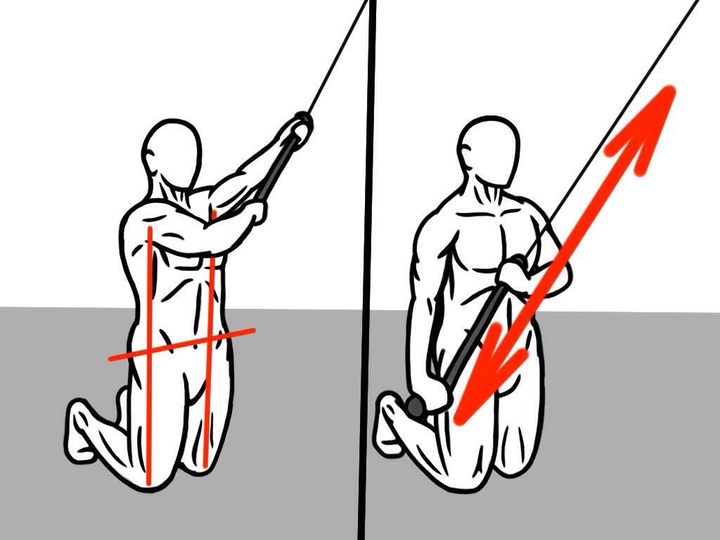 Looking for Stability and Coordination? This exercise will train your hips, core and shoulders to work together and provide much more stability in all movements!  Tall Cable Chop: kneel with hips and shoulders over knees and hold cable at diagonal to your heart.   Next, pull cable across body and towards floor while you remain tall. Keep vertical alignment and pull belly button in to spine to engage abs more.  Do 2-3 sets or 8-12 reps. #prehab #corestability #preparetoperform