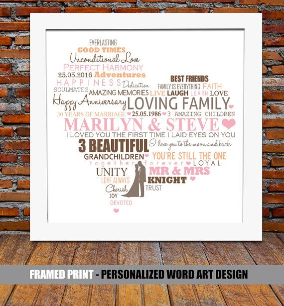 Ideas For 30th Wedding Anniversary Gifts: Pearl Wedding Anniversary 30th Pearl Wedding By