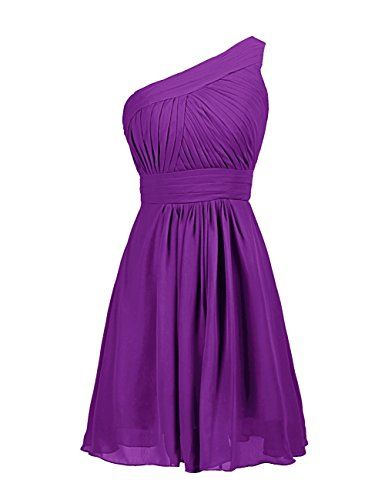 Dressystar One Shoulder Prom Dress Short Bridesmaid Gowns for Women Size 2 Purple Dressystar http://www.amazon.com/dp/B00WG7XJFS/ref=cm_sw_r_pi_dp_tW63vb06TDKNR