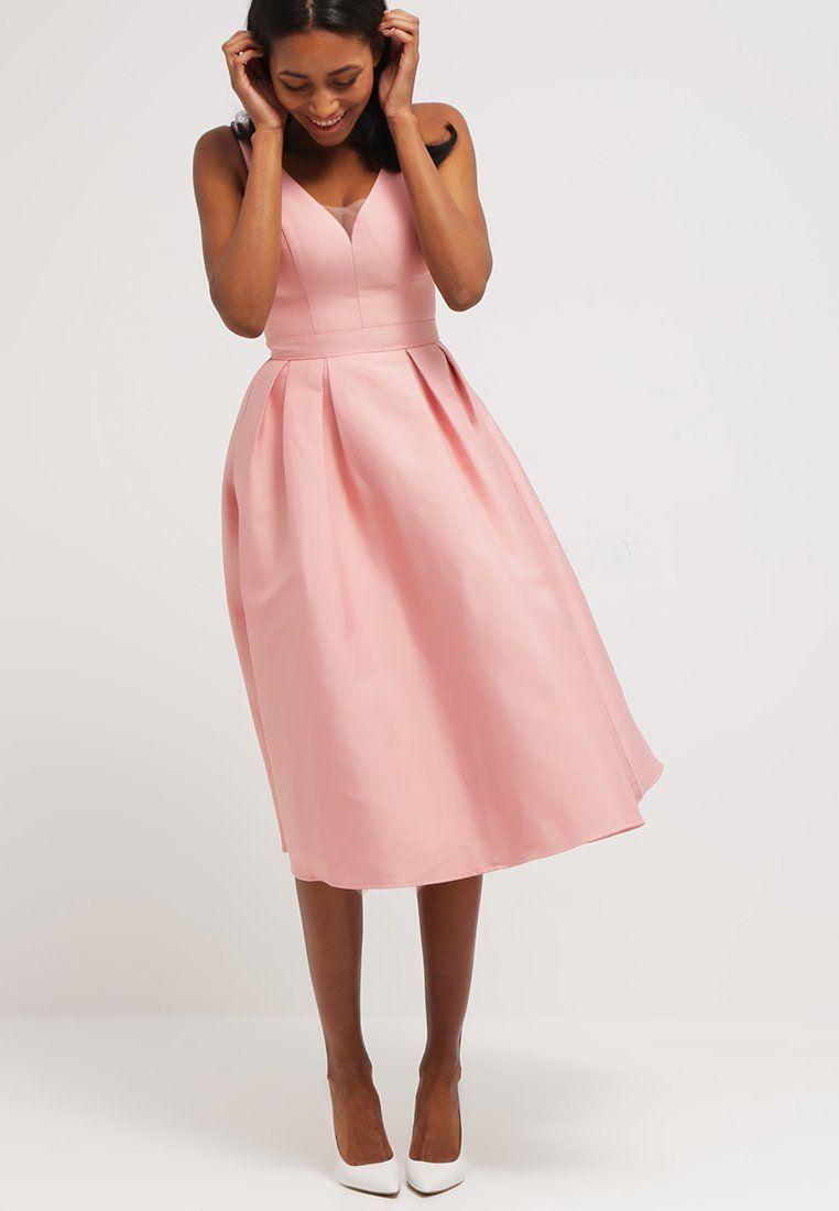 Chi Chi London MORGAN - Cocktail dress / Party dress - salmon pink ...