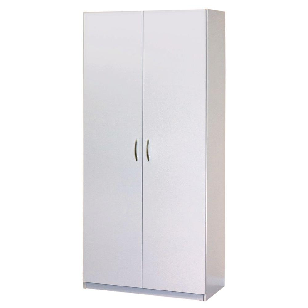 Closetmaid 30 In 2 Door Wardrobe Cabinet 12298 At The Home Depot Wardrobe Cabinets Closet System Closetmaid