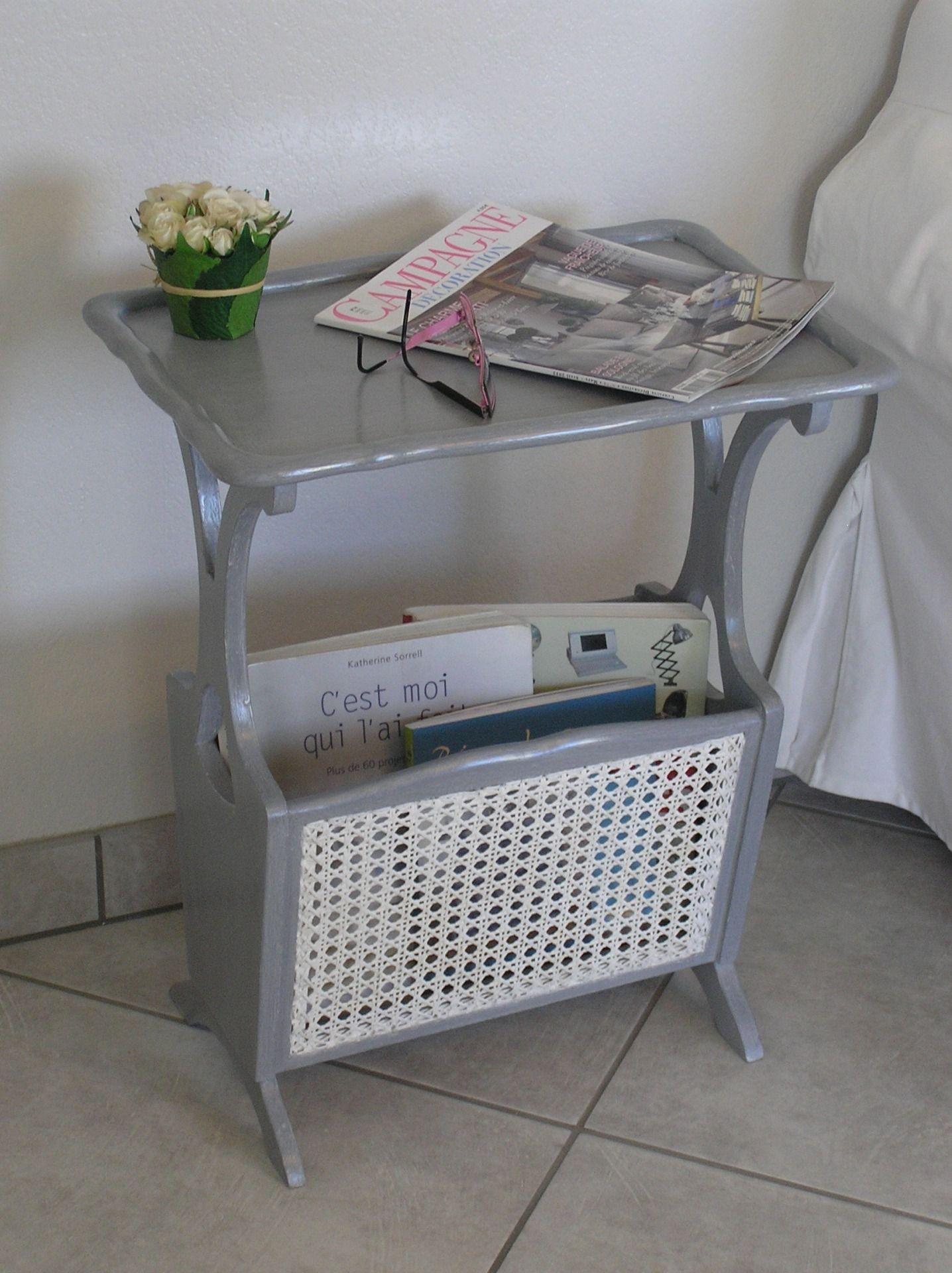 table porte revues cann gris gustavien patin agatha meubles et rangements par lin et. Black Bedroom Furniture Sets. Home Design Ideas