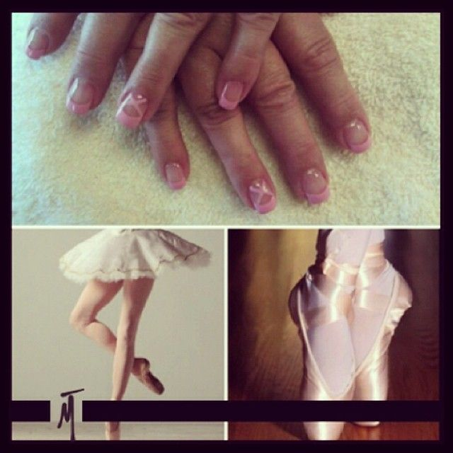 Creativity, en pointe! #NailTech #TricociCareers #SalonCareers #SpaCareers (By @gailrnailsmt)