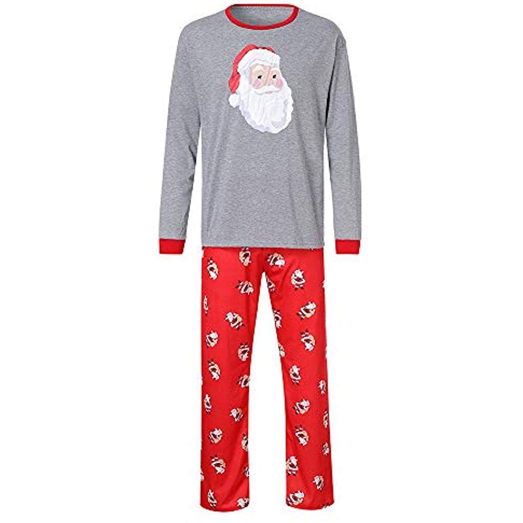 40a9b8f737646 Natale Pigiami Famiglia Pigiami Due Pezzi Famiglia coordinazione Vestiti per  la casa Donna Uomo Bambini Baby