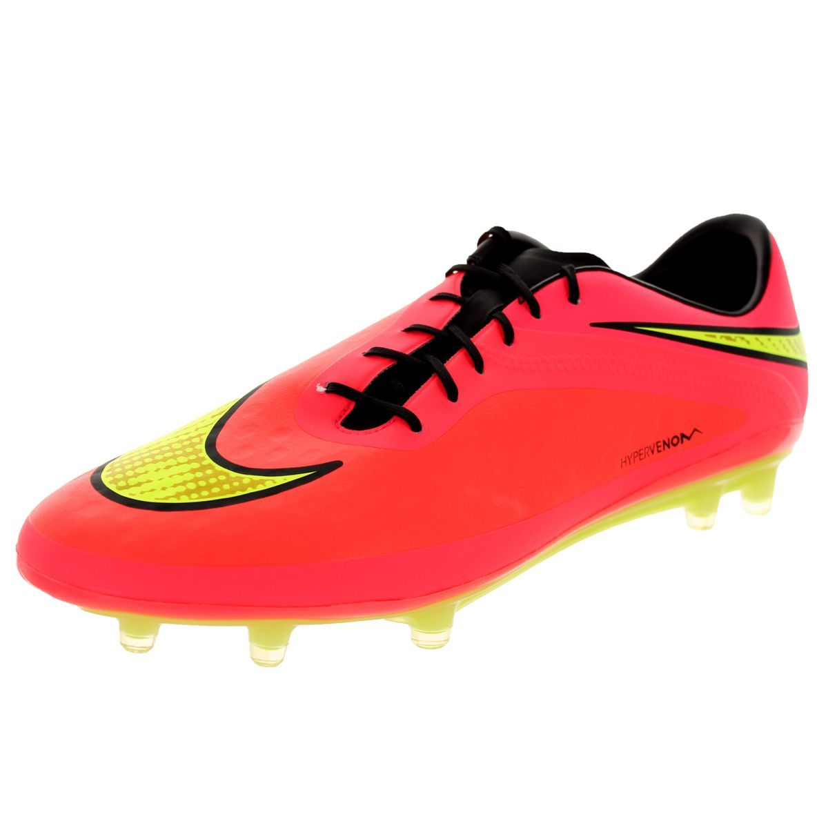 Bend it like Beckham on that pitch with these Nike men's Hypervenom Phatal soccer  cleats.