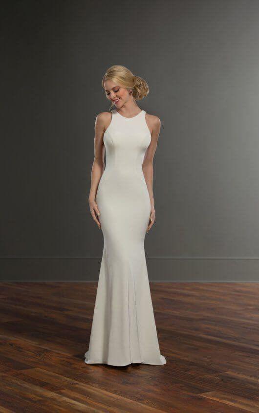 Wedding Dresses | Pinterest | Backless wedding, Wedding dress and ...