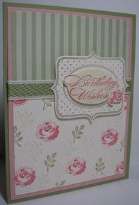 SU Baby Blossoms, Springtime Vintage DSP    four variations