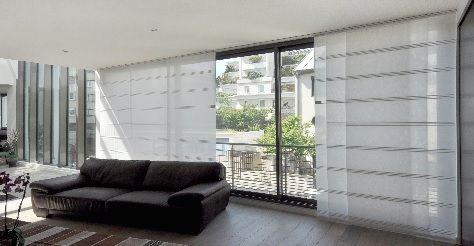 le rideau japonais de r els atouts face aux rideaux traditionnels stores pinterest. Black Bedroom Furniture Sets. Home Design Ideas