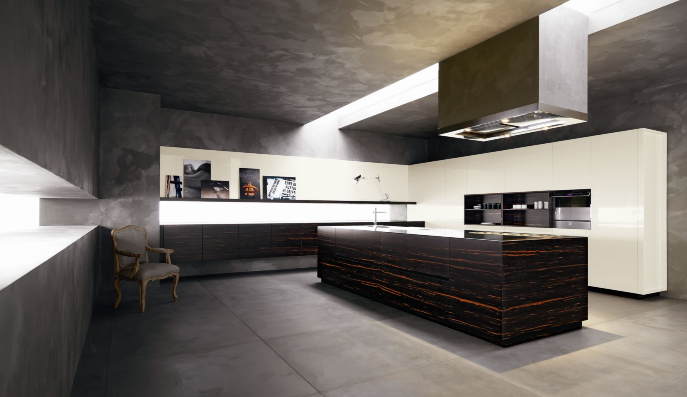 Cesar Kitchens. Space For Senses...beautiful But Be Warned Only Order If  You Have 8 Months.
