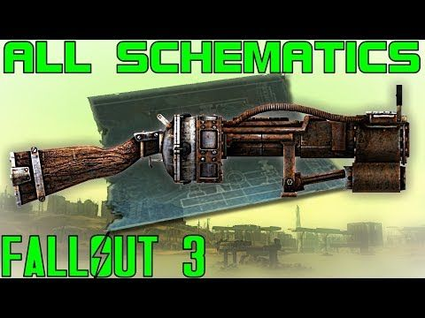 Fallout 3: All Schematics Guide (Vanilla) - YouTube | funny ... on fallout weapons schematics, bioshock schematics, minecraft schematics, home built plasma cutter wiring schematics, borderlands 2 weapon schematics, elder scrolls 3 schematics, car computer chip schematics, kerbal space program schematics, halo 3 schematics, lincoln g8000 welder schematics, mass effect 3 schematics, miller welder 175 amp electrical schematics,