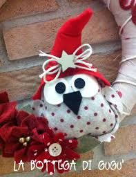 Risultati immagini per ghirlande natalizie feltro
