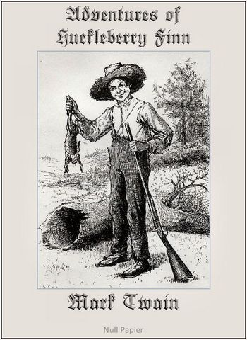 Photo of The Adventures of Huckleberry Finn (Fully Illustrated Version with 173 optimized graphics)