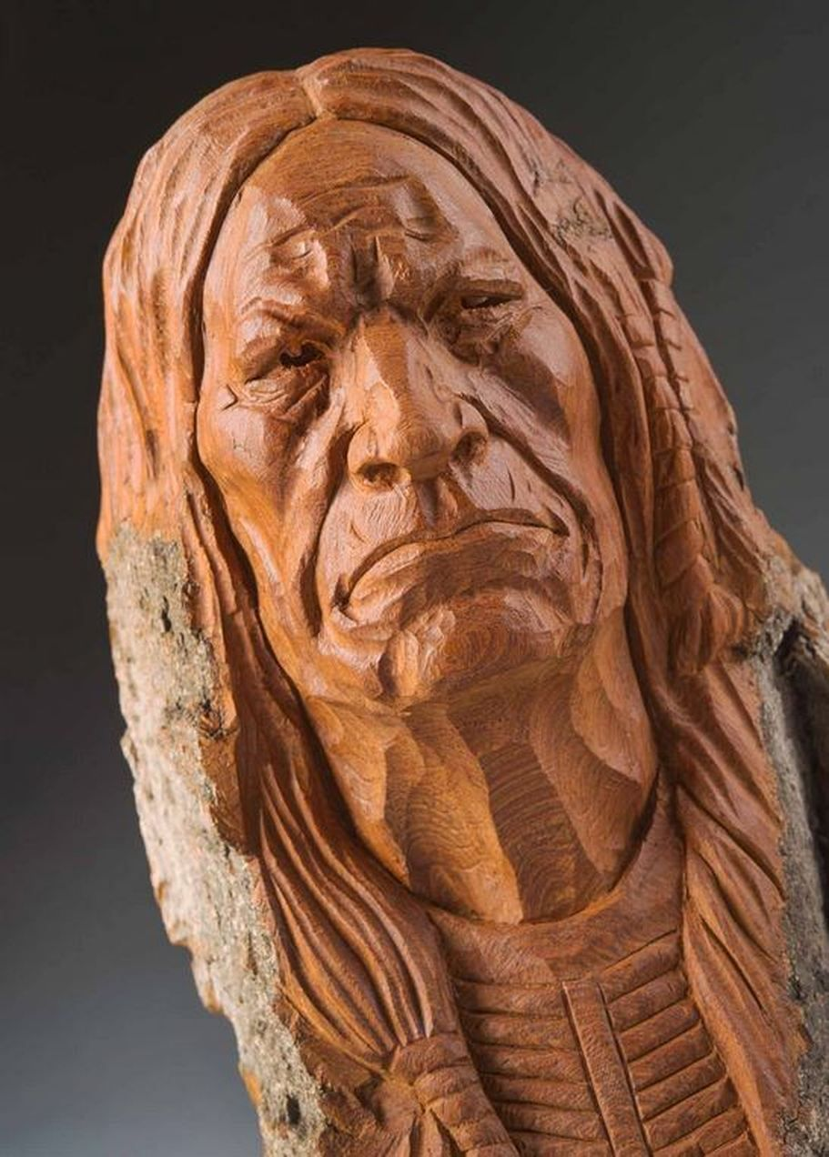 Picture native american indian wood carvings pinterest