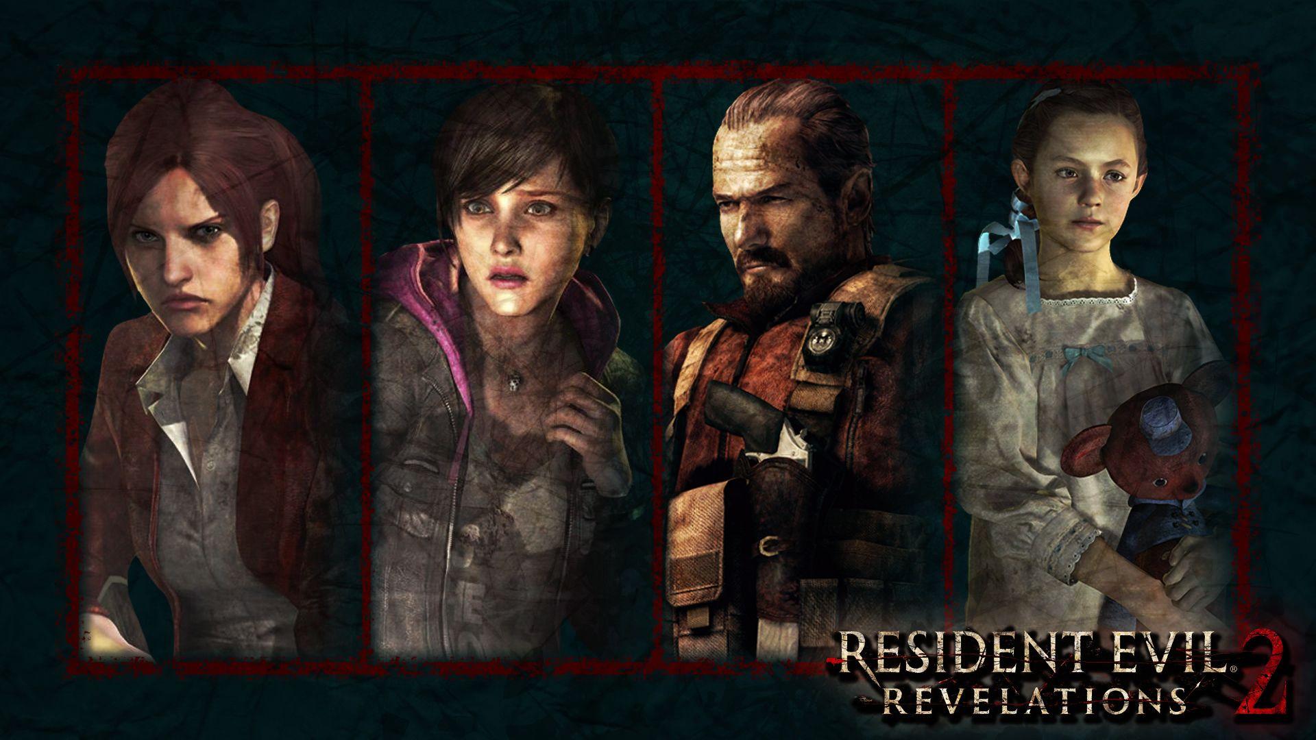 Resident Evil: Revelations 2 - Main Characters | Resident evil ...