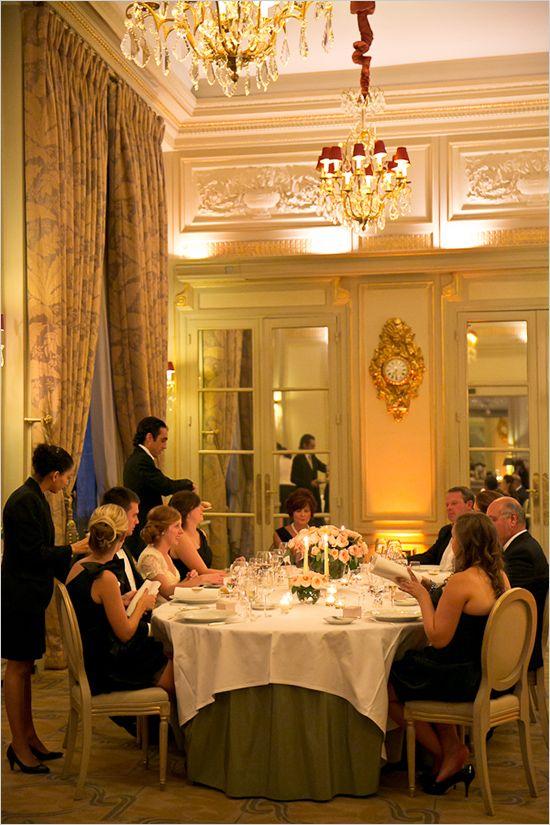 One Day In Paris Reception Inspiration Paris Wedding Wedding