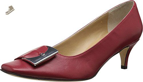 Womens Shoes Vaneli Obelia Red Nappa