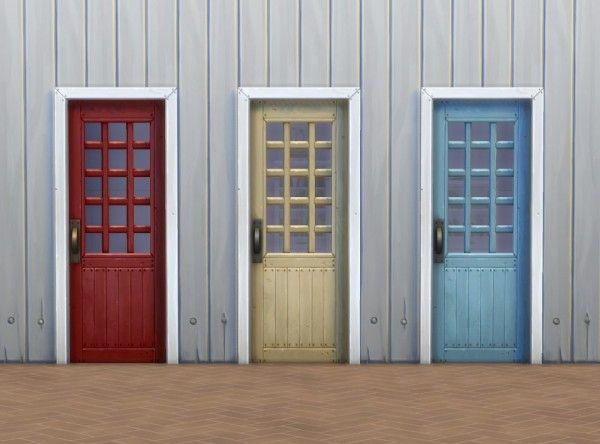 Mod The Sims Mega Budget Doors by plasticbox \u2022 Sims 4 Downloads & Mod The Sims: Mega Budget Doors by plasticbox \u2022 Sims 4 Downloads ...