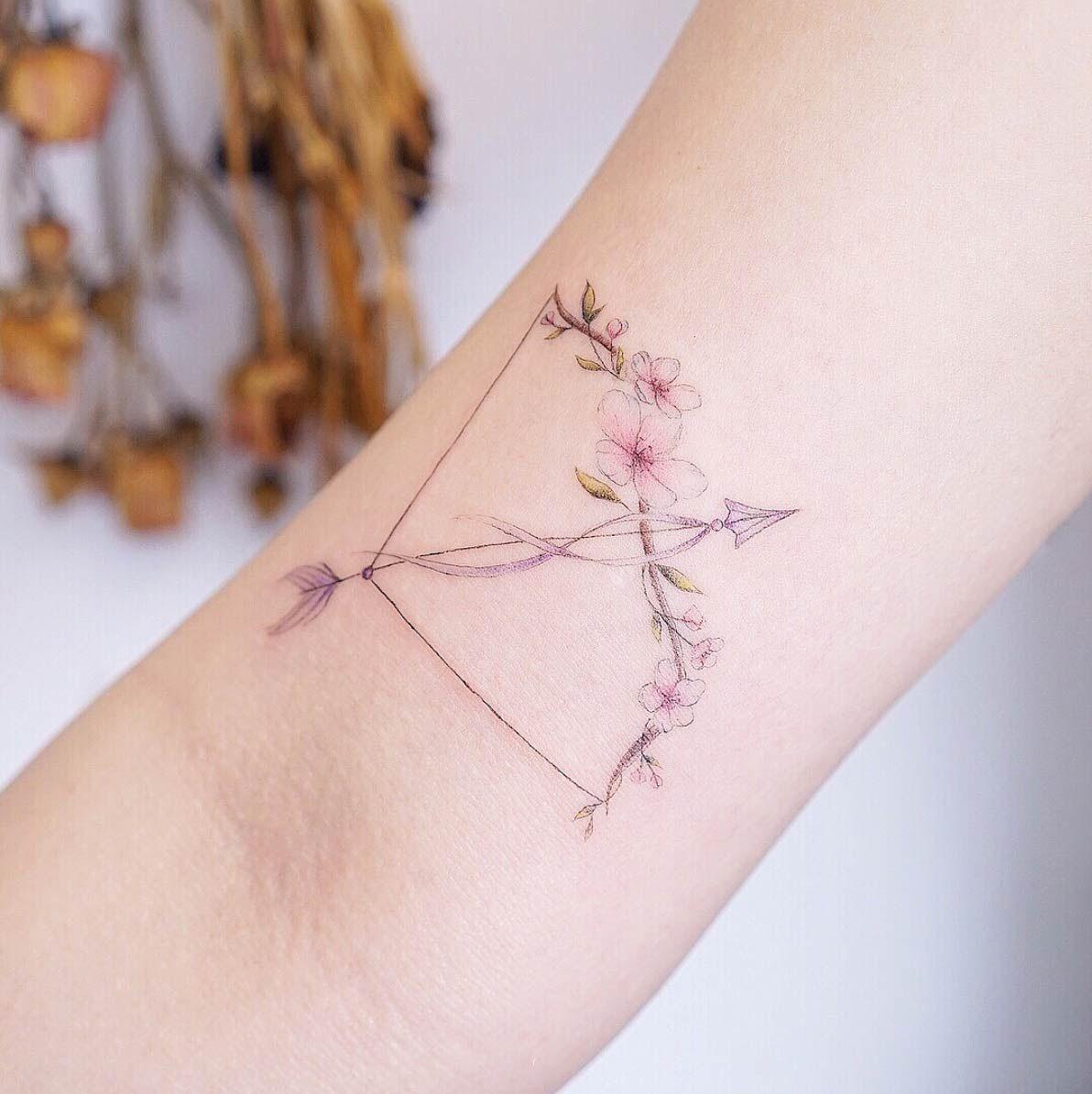 50 Bogenschiessen Tattoos Fur Manner Pfeil