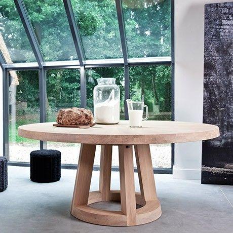 runder esstisch - eiche von odesi | monoqi | tables | pinterest, Esstisch ideennn