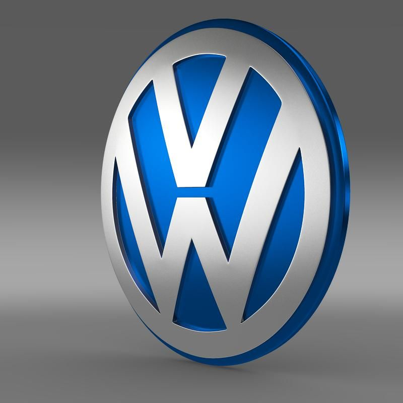 Volkswagen Group Logo 3d Model Logok Kepek