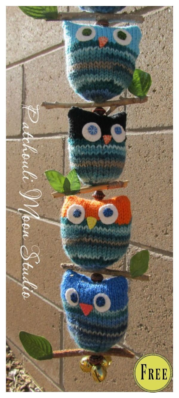 Photo of Adorable Puff Owl Free Knitting Pattern  #adorable #knitting #pattern #knittingtoys Adorable Puff O