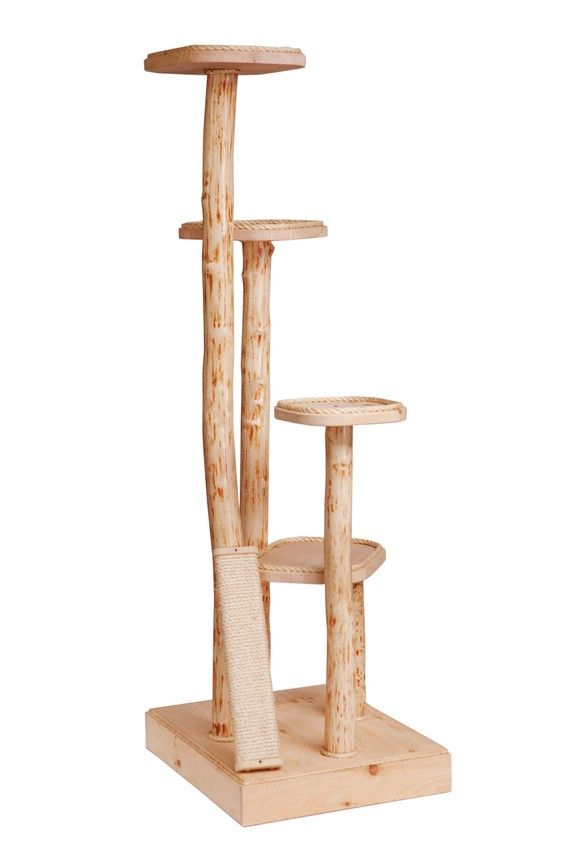 76 Large Four Level Natural Wood Cat Tree Free By Mountaincattrees 499 00