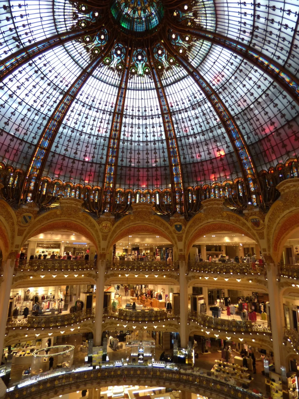 Surely On Every Shopper S List When Visiting Paris The Flagship Store Of Les Galeries Lafayette Is A Must See In 2020 Lafayette Paris Galeries Lafayette Paris Travel