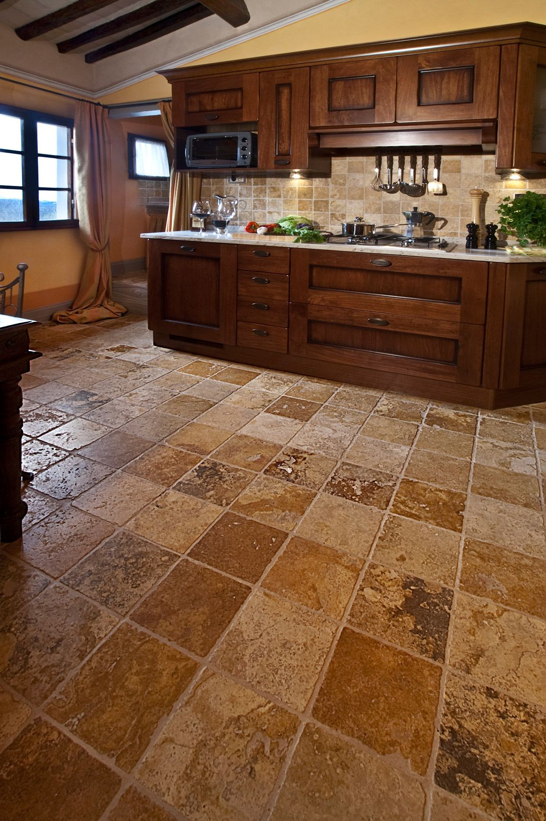 pavimento in pietra per cucina - Cerca con Google | casa | Pinterest ...